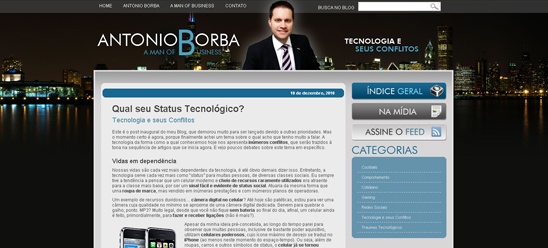 Antonio Borba - A Man of Business