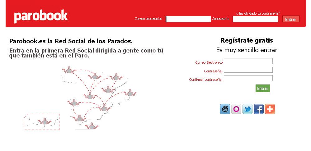 Parobook: rede social de união e denúncia para desempregados
