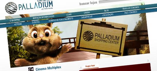 Palladium Ponta Grossa - Site