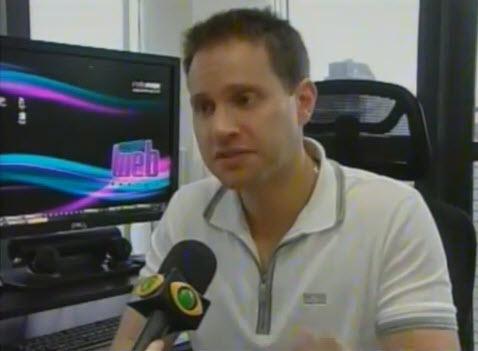 Antonio Borba em entrevista a Band