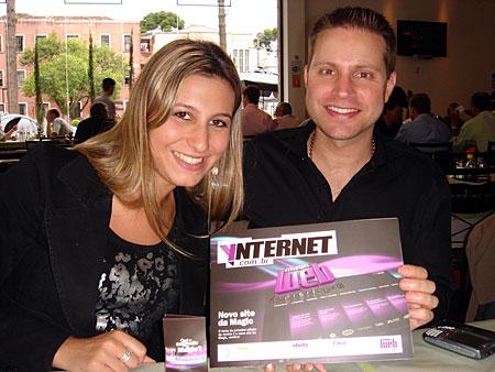 Antonio Borba e Mariana Gusso - Lançamento da Ynternet #01