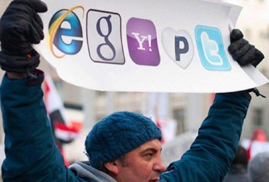 Ativismo online mostra a força da internet
