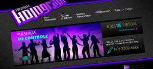 Magic Hologram - Web Site