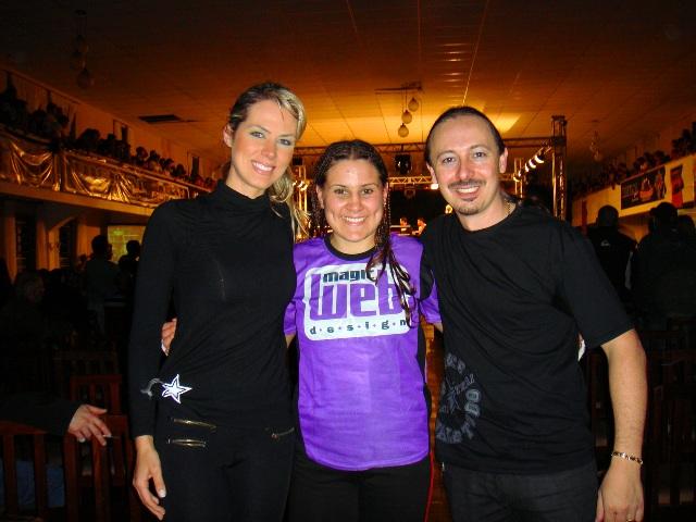 Sabrina Paciornik, Jennifer Maia e Juliano Gusso Fagundes