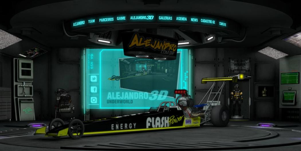 Site 3D de Alejandro Sanchez