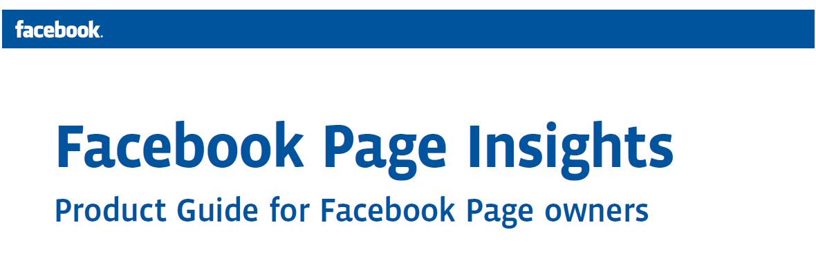 Novo Facebook Insights