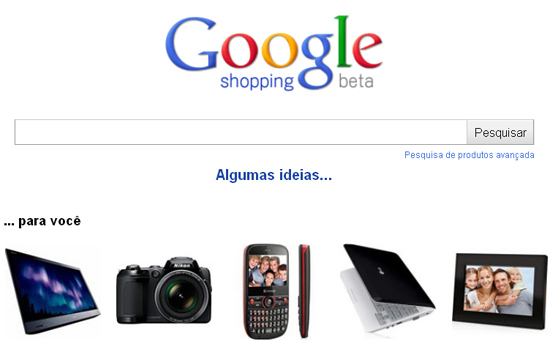 Google Shopping chega ao Brasil - Magic Web Design