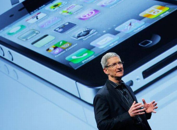 Tim Cook fala no lançamento do novo iPhone