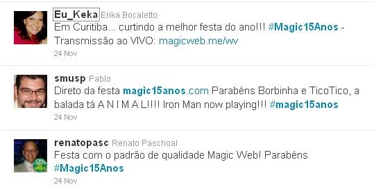 Tweets - Magic Web Design