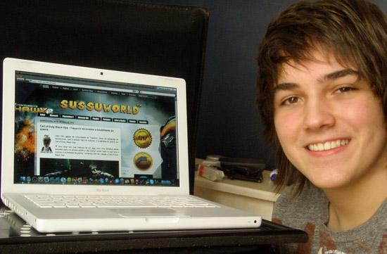 Fabio Jardim, campeão de Guitar Hero, sobe ao palco - Magic Web Design