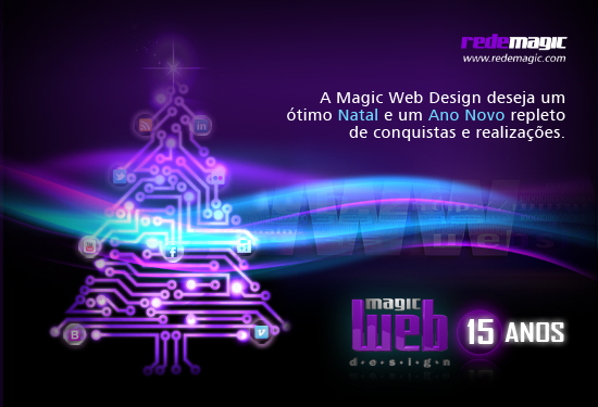 A Magic Web Design deseja um Feliz Natal!