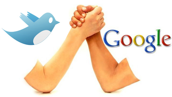 Twitter e Google trocam farpas - Magic Web Design
