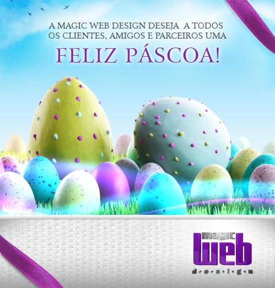 A Magic Web Design deseja uma Feliz Páscoa
