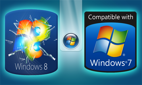 Windows 7 vs  8