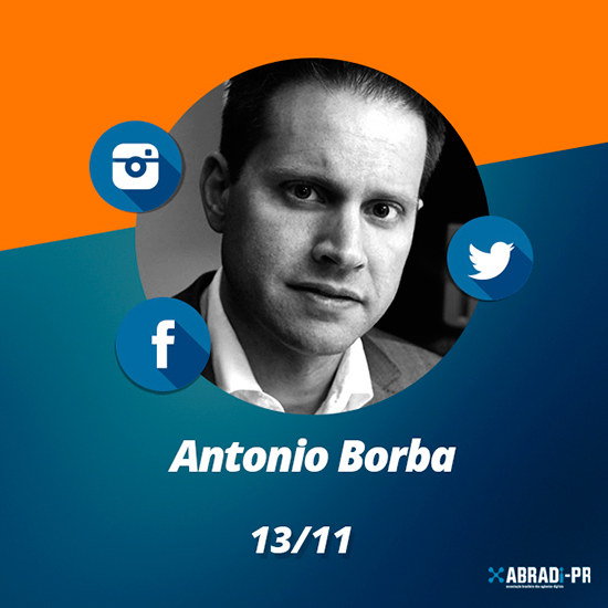 Antonio Borba dá palestra sobre mídias sociais em evento da ABRADi-PR