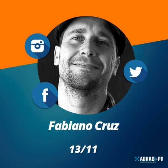 Palestra de Fabiano Cruz expõe a maneira correta de se comunicar no meio digital