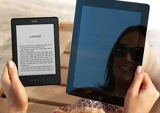 Diferença de definição de tela: e-reader e tablet