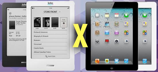E-reader x Tablet