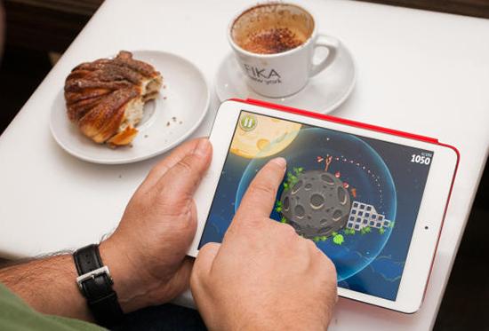 Tablet oferece mais possibilidades de entretenimento