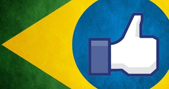 Brasil domina acessos a mídias sociais