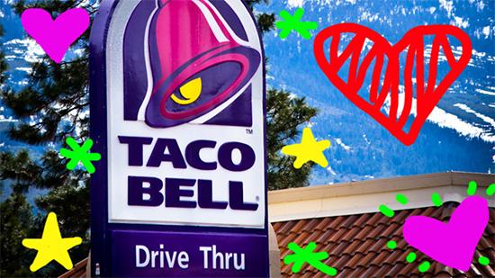 Taco Bell no Snapchat