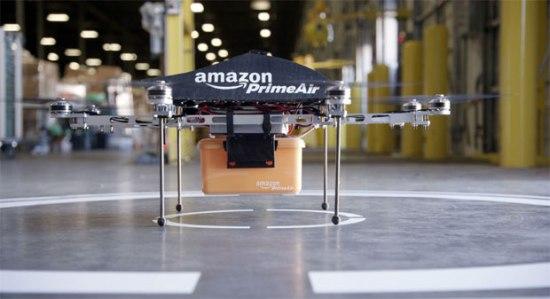 Amazon aposta em mini-drones para agilizar entregas