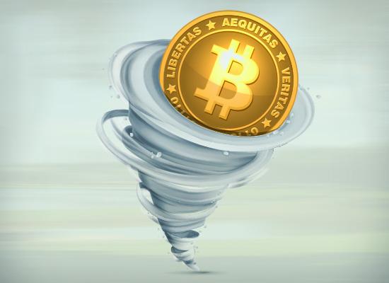Tormenta no mundo dos bitcoins