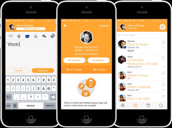 Aplicativo Swarm é uma versão mais interativa do Foursquare