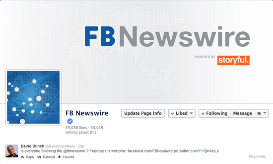 FBNewswire no Twitter