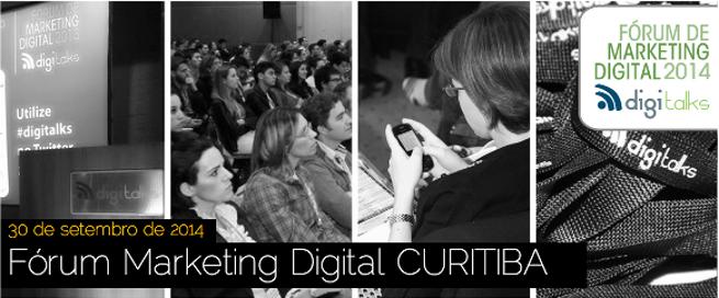 Fórum de Marketing Digital chega à Curitiba