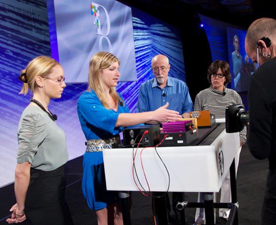 Meredith Perry apresenta a tecnologia do uBeam