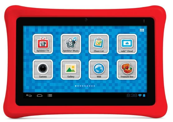 Tablets para crianças produzidos pela Fuhu