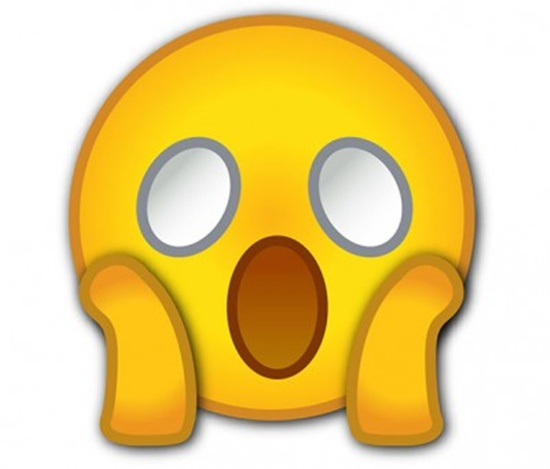 astonished face emoji emojipedia - 560×420