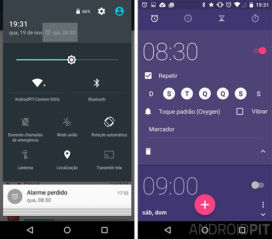 Alarme Android