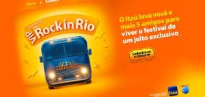 Itaú - VIP no Rock in Rio