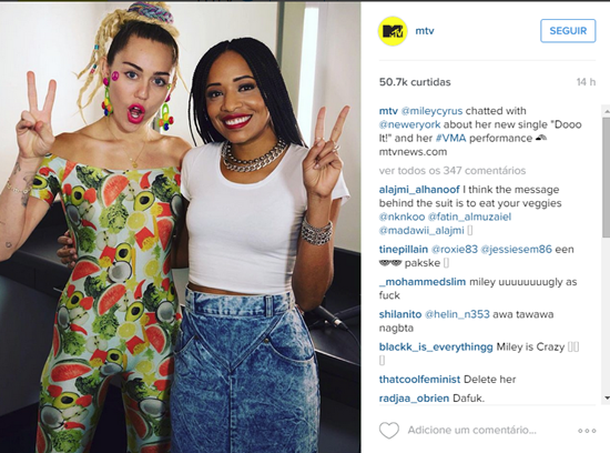 Instagram da MTV