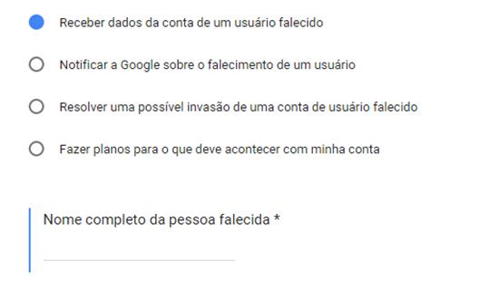 Central de ajuda do Google