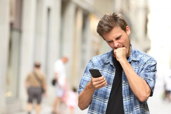 Carregando página no celular - Magic