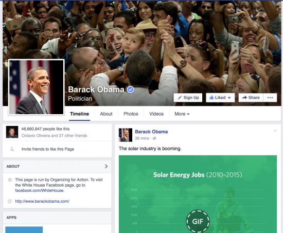 Barack Obama Fan Page - Magic