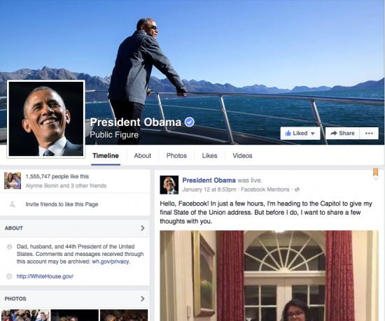 Facebook Barack Obama - Magic