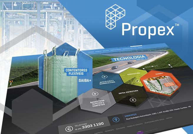 Propex do Brasil - Web Site