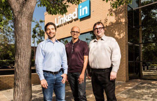 CEOs Microsoft e LinkedIn - Magic