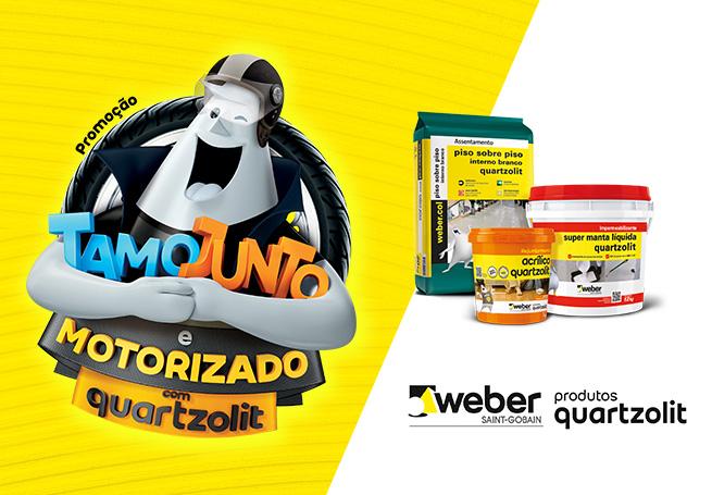 """""""Tamo Junto e Motorizado com Quartzolit"""""""