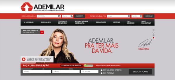 Interface site Ademilar
