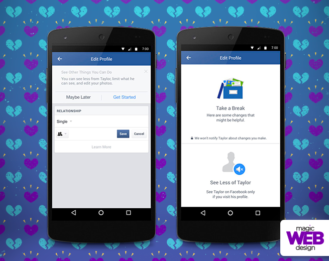 Facebook lança funções para ajudar a superar fim do relacionamento - Magic Blog