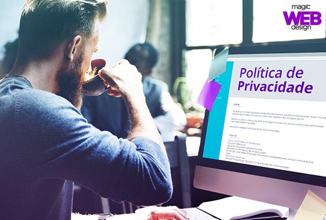 A política de privacidade em sites é necessária?