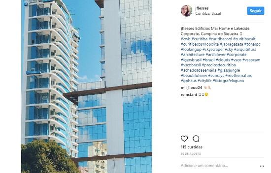 """A Construtora Laguna utiliza a """"#fotografelaguna"""" para estimular o registro das obras e empreendimentos"""