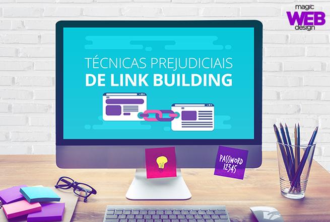 Técnicas prejudiciais de link building