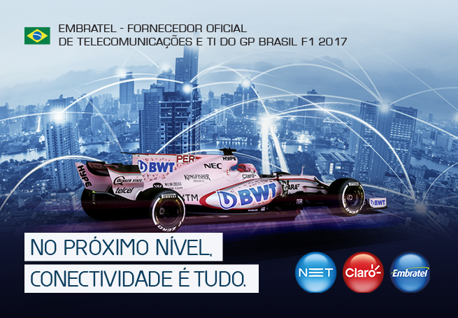 Embratel - Hot Site GP Brasil F1 2017