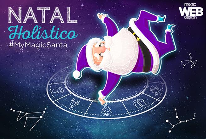 A Magic deseja a você Feliz Natal e um mágico Ano-Novo!